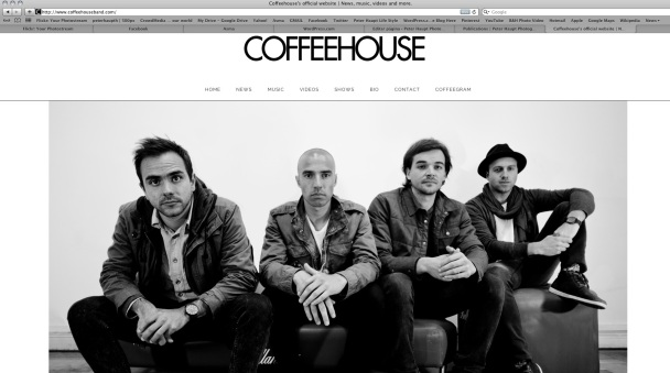 Coffeehouseband Cover photo