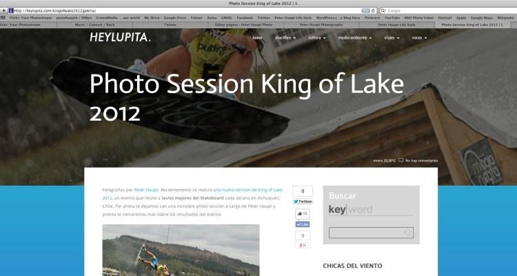 Hey Lupita King of lake