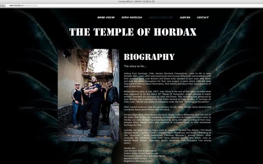 Hordax 1 Web