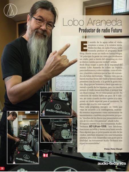 Lobo Araneda para AudioTechnica