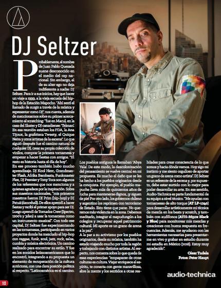 Dj Seltzer - Audiotechnica